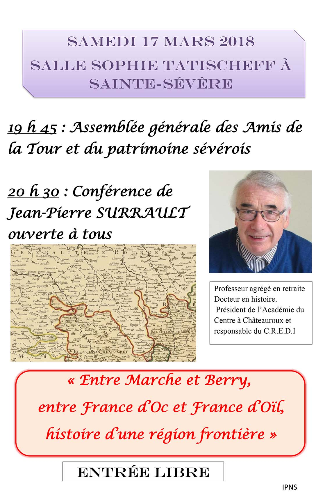 Conference-Surrault-sainte-severe
