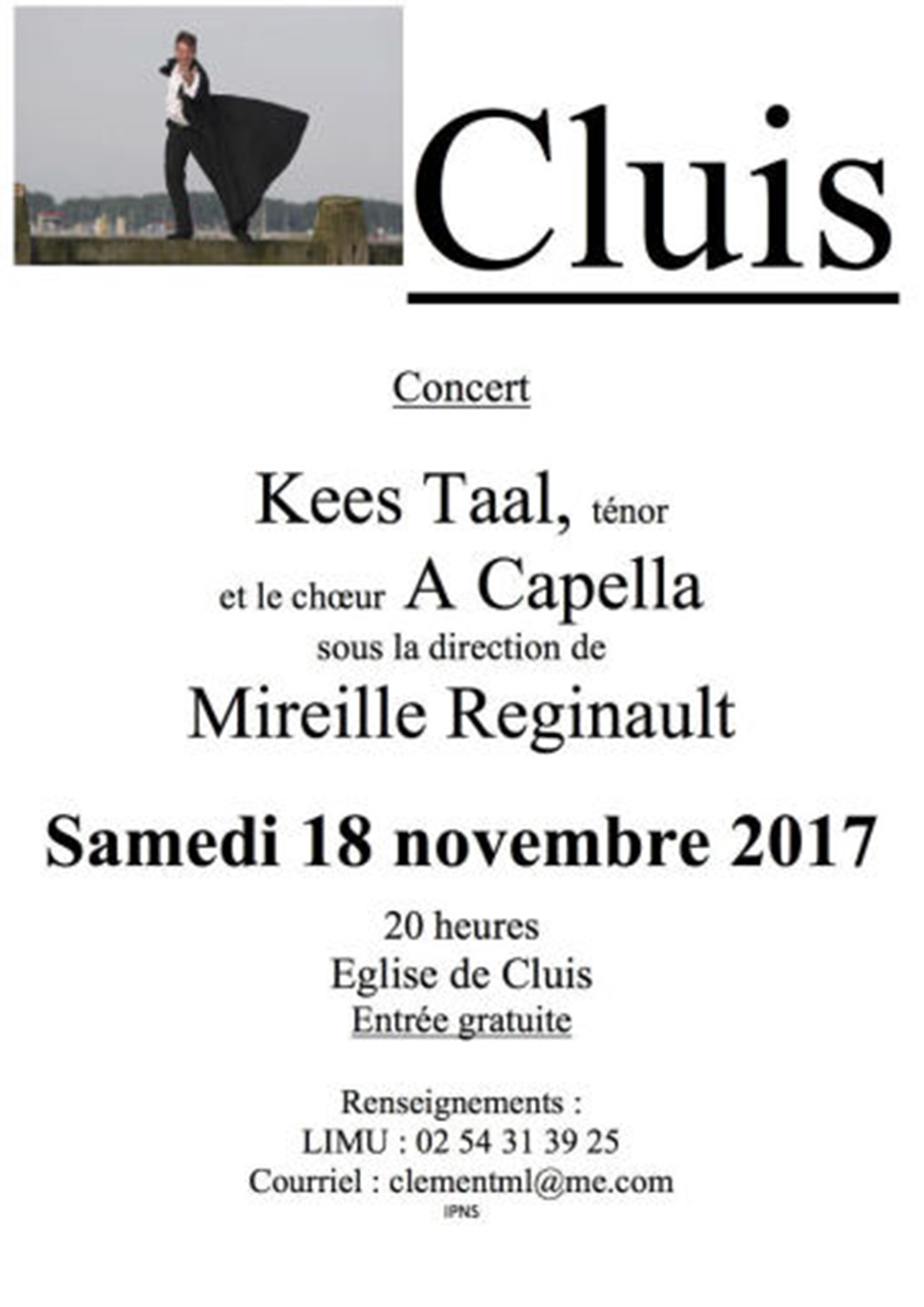 concert kees tal cluis