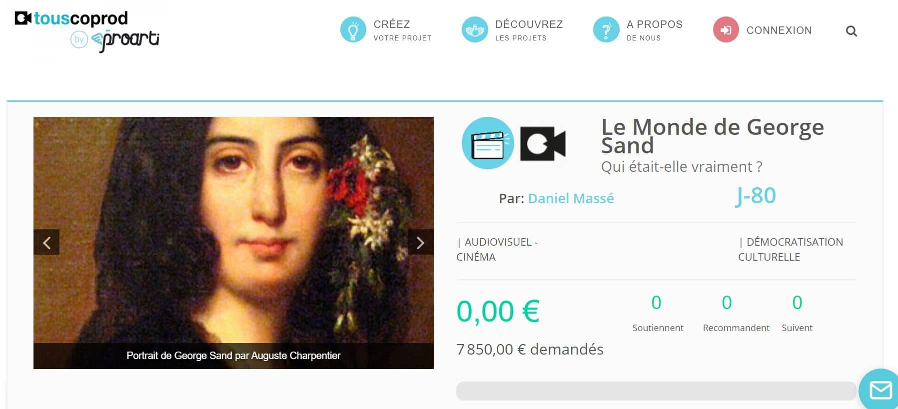 Un documentaire sur George Sand